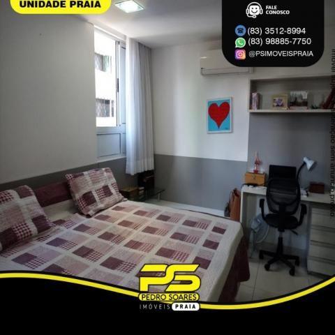 Apartamento com 3 dormitórios para alugar, 157 m² por R$ 6.500/mês - Tambaú - João Pessoa/ - Foto 7