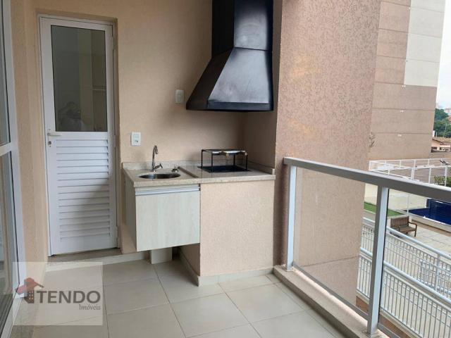 Apartamento 90 m² - alugar - 3 dormitórios - 2 suítes - Bairro Pau Preto - Indaiatuba/SP - Foto 7