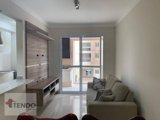 Apartamento 90 m² - alugar - 3 dormitórios - 2 suítes - Bairro Pau Preto - Indaiatuba/SP