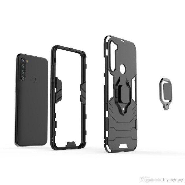 Capa 4 em 1 Anti Impacto Choque Militar Xiaomi Note 8T, aceito cartão - Foto 3