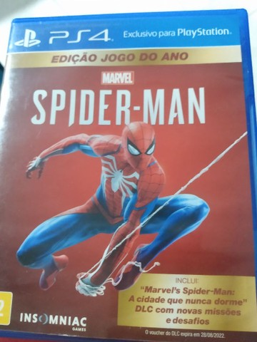 Spider-Man HOMEM ARANHA PS4