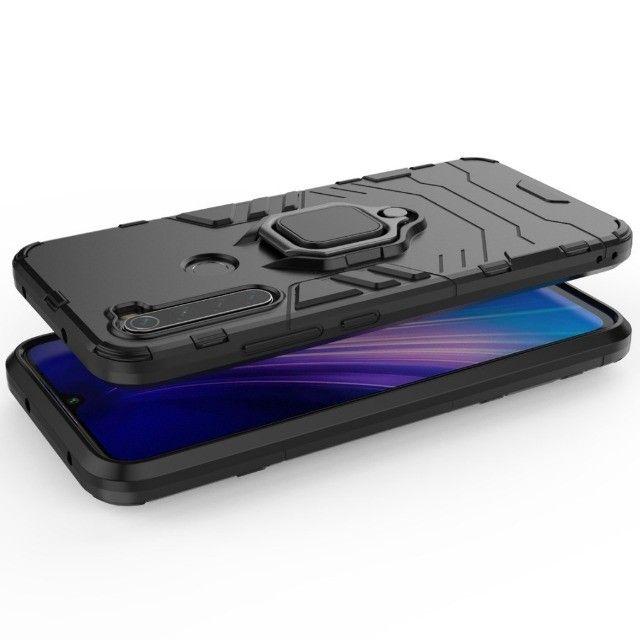 Capa 4 em 1 Anti Impacto Choque Militar Xiaomi Note 8T, aceito cartão - Foto 6