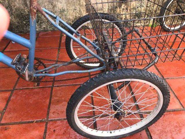 Tricicolo Azul cesta de carga - Foto 3