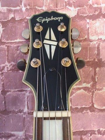 Guitarra Epiphone Les Paul Custom Pickups Gibson - Foto 3