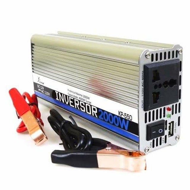 Inversor de Voltagem 2000w 12v P/110v ( Entrega Grátis)