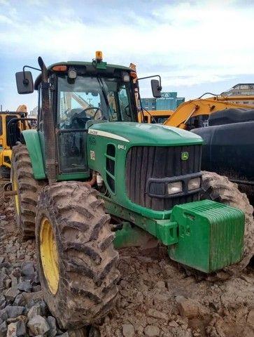 Trator John Deere 6415 4x4 #Parcelamos - Foto 3