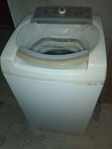 Máquina de lavar ative Brastemp 9kg 350$