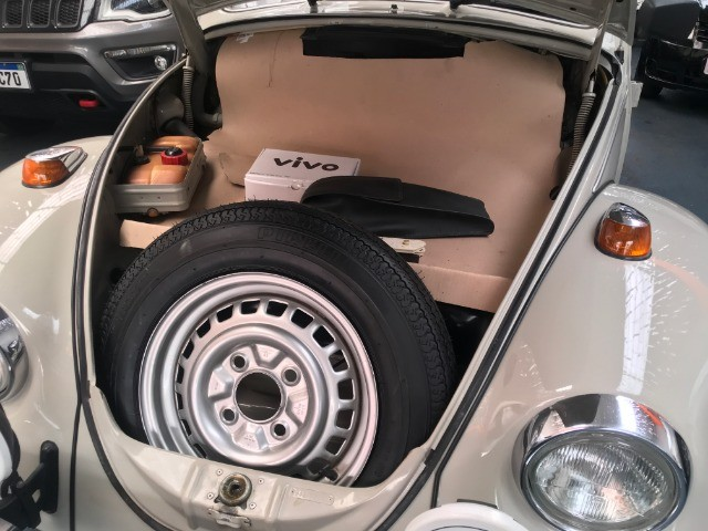 VW Fusca 1600 - Placa Preta - Colecionador - Foto 17