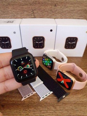 Smartwatch IWO 12 Lite W26 Série 6 40mm Tela infinita, Troca Pulseira, Faz ligações - Foto 2