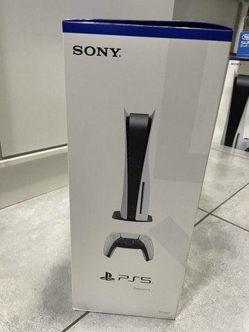 Playstation 5 com leitor novo lacrado com nota e garantia de 1 ano  - Foto 3