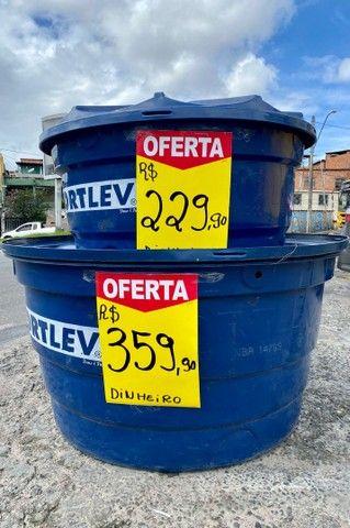 Caixa de Agua / Caixa Dagua Fortlev / Tanque- 500L e 1000L - PROMOÇÃO IMPERDÍVEL