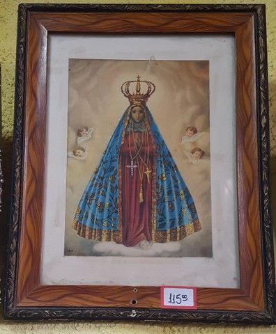 Antigo quadro de Nossa Senhora Aparecida