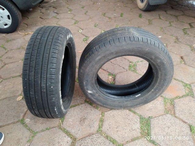 Vende se 2 pneus sem Aro e 1 com aro usados - Foto 4