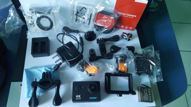 Original Eken H9 - Action camera Ultra HD - subquatica - 4K