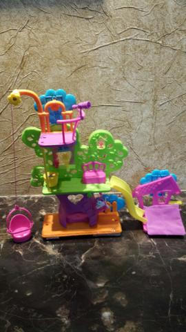 Casa na Árvore da Polly Pocket