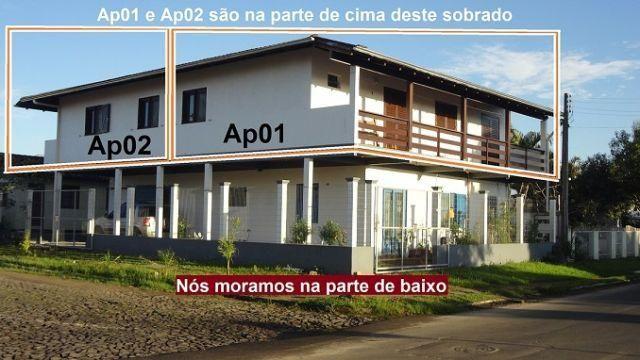 Apartamento por temporada em Torres - Acomoda até 8 pessoas