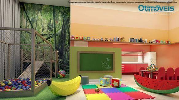 Apartamento com 2 dormitórios à venda, 56 m² por r$ 345.900,00 - santo inácio - curitiba/p - Foto 8