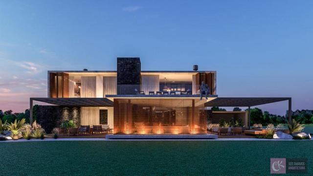 Casa com 5 dormitórios à venda, 1023 m² por r$ 13.544.000,00 - alphaville - gramado/rs - Foto 12