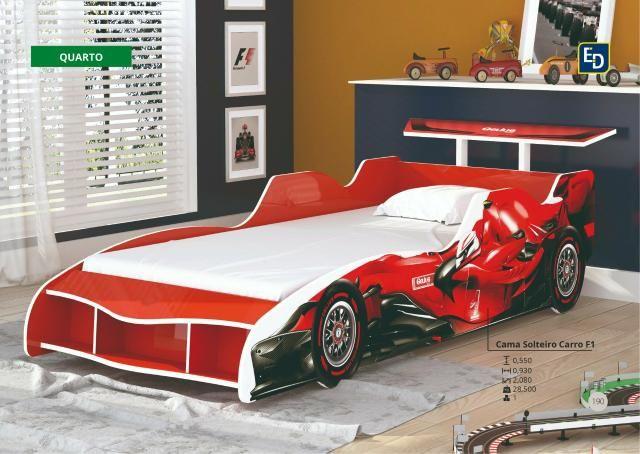 Super Promoção Cama carro F1