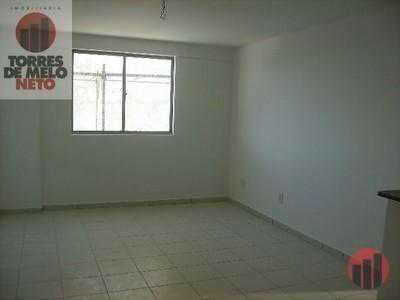 Apartamento com 1 dormitório para alugar, 45 m² por R$ 700/mês - Parangaba - Fortaleza/CE - Foto 3