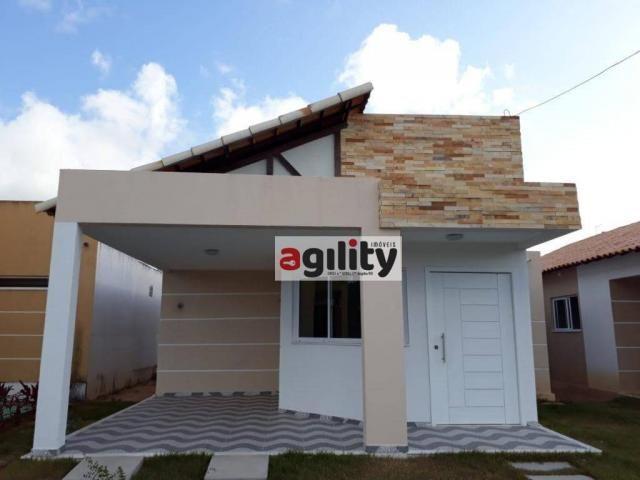 Casa com 3 dormitórios para alugar, 95 m² por r$ 1.400/mês - liberdade - parnamirim/rn