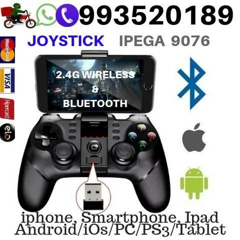 Controle Joystick Bluetooth Wireless Ipega 9076 Android Celular Pc Ps3  Tablet Tv Box