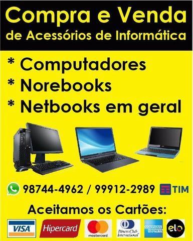 Assistência técnica em notebooks e celulares