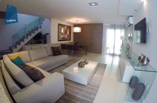 Casa à venda, 205 m² ou 213 m², 3 ou 4 Suítes, 3 vagas, Sapiranga, Fortaleza. - Foto 12