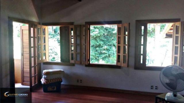 Casa residencial à venda, carangola, petrópolis - ca0002. - Foto 12