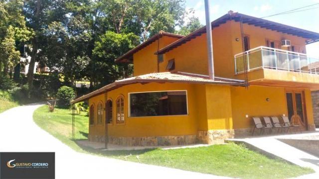 Casa residencial à venda, carangola, petrópolis - ca0002. - Foto 3