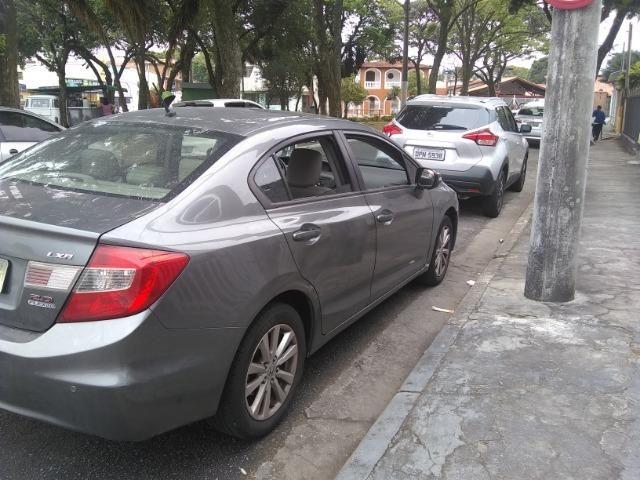 Honda civic lxr 2.0, cor cinza automático, flex - Foto 5