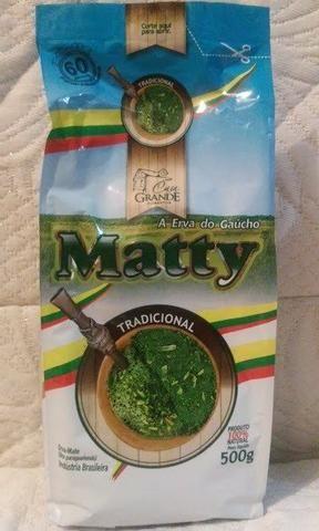 Erva matty 500g tradicional/moida da grossa - Foto 3