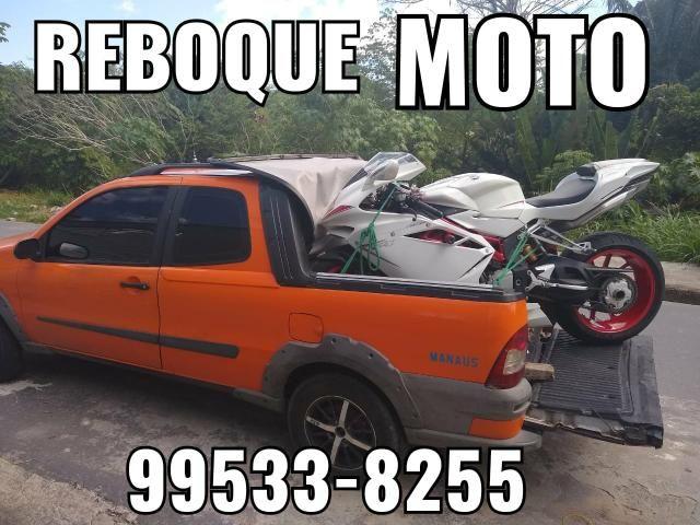 Reboque / Guincho Moto em toda Manaus