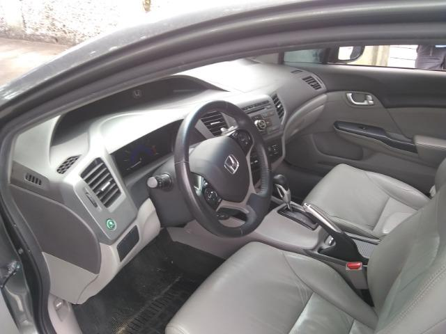 Honda civic lxr 2.0, cor cinza automático, flex - Foto 7