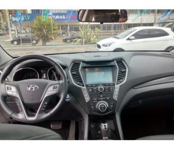 HYUNDAI IMP SANTA FE GLS 7LUG 4WD 3.3 V6 AT Branco 2017/2018 - Foto 6