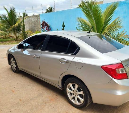 Oportunidade.Honda Civic Exs com teto solar - Foto 2
