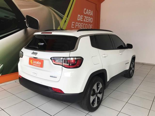COMPASS 2018/2018 2.0 16V FLEX LONGITUDE AUTOMÁTICO - Foto 8