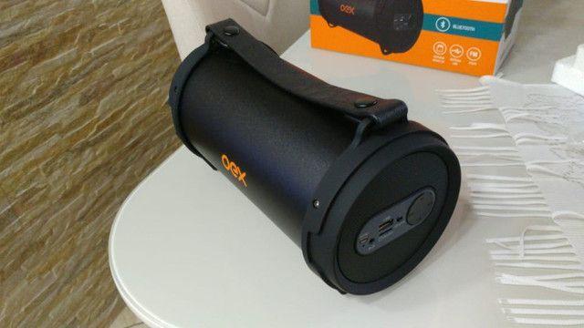 Caixa De Som Mp3 Usb Cartão Fm Bluetooth 30w Oex Drum Sk405 - Foto 3