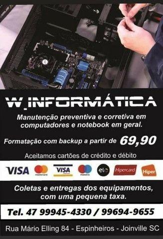 Formatação em computadores e notebook em geral