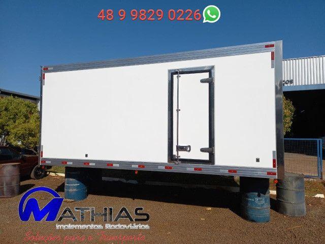 Ref 0981 Baú frigorífico 3/4 gancheira novo a pronta entrega - Foto 7