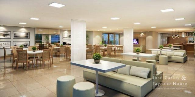 Repasse 130m² Eco Oceania! Apartamento com 3 suítes - Vista mar - Varanda gourmet - Jardim - Foto 5