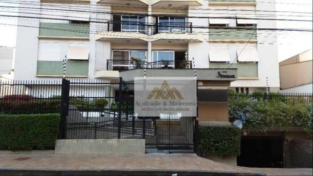 Apartamento com 2 dormitórios para alugar, 75 m² por R$ 1.050/mês - Centro - Ribeirão Pret - Foto 18