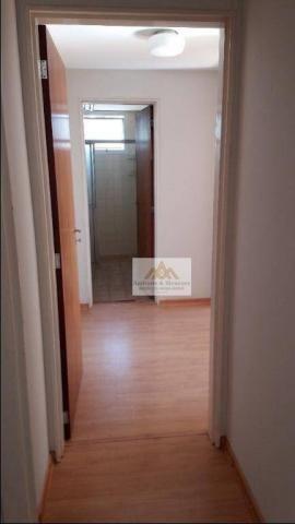 Apartamento com 2 dormitórios para alugar, 75 m² por R$ 1.050/mês - Centro - Ribeirão Pret - Foto 7
