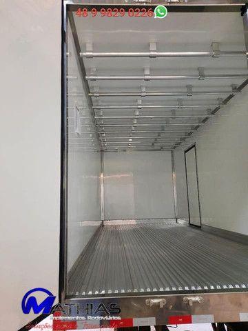 Ref 0981 Baú frigorífico 3/4 gancheira novo a pronta entrega - Foto 6