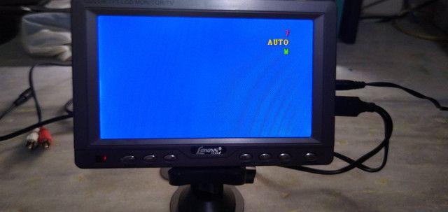 Tv 7 polegadas lenoxx raridade - Foto 3