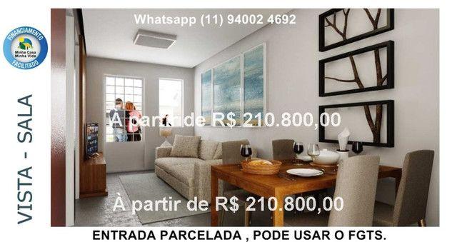 Alta Vista Campo Limpo Pta, casas em condominio , entrada parcelada , pode usar FGTS - Foto 6