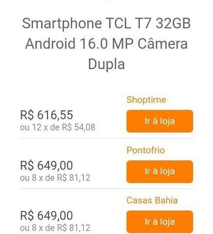 Vendo um celular Marca TCL