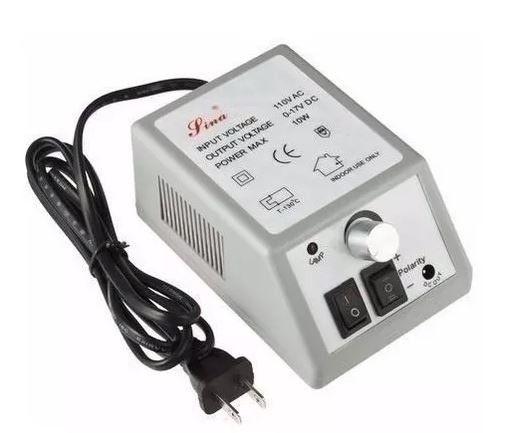 Lixa de Unha Elétrica com Motor + Kit de Lixas_ B07 - Foto 2
