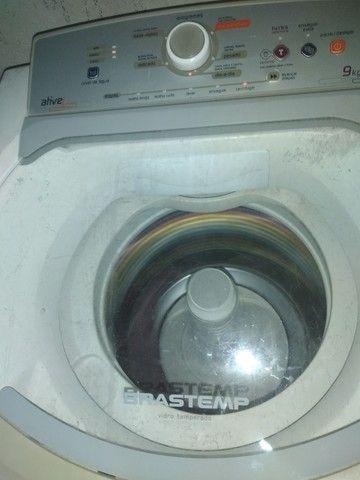 Máquina de lavar ative Brastemp 9kg 350$ - Foto 2