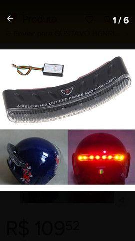 Sinalizador de capacete  - Foto 5
